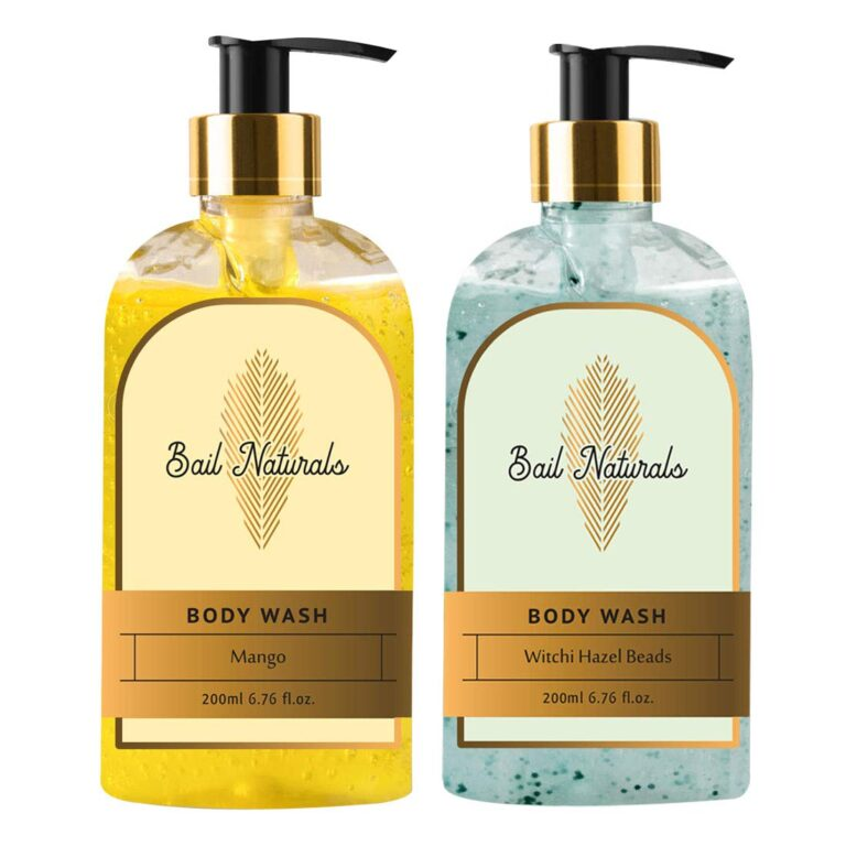 Body Wash For Smooth & Healthy Skin – All type skin (200 ml) Pack of 2